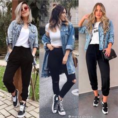 2020 jeans outfits 2020 trendy jeans jackets and outfits . - Women Jean Jackets - Ideas of Women Jean Jackets Cute Fall Outfits, Simple Outfits, Classy Outfits, Summer Outfits, Casual Outfits, Fashion Outfits, Jean Jacket Styles, Jean Jacket Outfits, Denim Jacket Outfit Winter