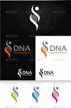 DNA Logo Template - Humans Logo Templates