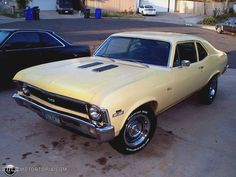 1970 Chevrolet Nova SS Maintenance of old vehicles: the material for new cogs/casters/gears/pads could be cast polyamide which I (Cast polyamide) can produce