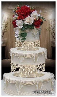 Pin by Sharon vanBreet on Beautiful cakes   Pinterest   Wedding cake ...