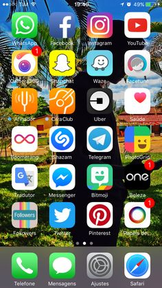 Home Screen Iphone 7 Plus Wallpaper 41 Ideas For 2019 Iphone Home Screen Layout, Iphone App Layout, Iphone 7 Plus Wallpaper, Cute Wallpaper For Phone, Wallpaper Ideas, Organize Apps On Iphone, Whats On My Iphone, Good Photo Editing Apps, Homescreen