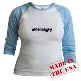 I absolutely love this one! It's so cute! They also have this in a black short sleeve too. Cafepress site