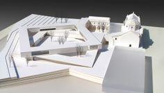 """Acha Zaballa Arquitectos — """"claustro abierto"""" — Image 2 of 7 - Europaconcorsi"""