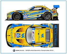BMW Z4 GTD Turner racing team
