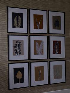 Ethan Allen Wall Art living room ideas. black and white artwork. black paper art