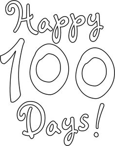 Celebrate completing 100 Days of School with these fun Happy 100th