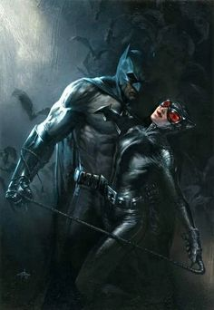 Batman and Catwoman - Batman Poster - Trending Batman Poster. - Batman and Catwoman Batman The Dark Knight, Batman Vs, Batman Und Catwoman, Spiderman, Batman Superhero, Batman Dark, Poster Marvel, Poster Superman, Posters Batman
