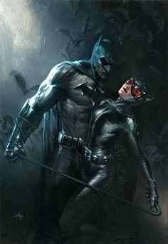 Batman and Catwoman - Batman Poster - Trending Batman Poster. - Batman and Catwoman Batman The Dark Knight, Batman Vs, Batman Und Catwoman, Spiderman, Batman Superhero, Batman Dark, Poster Marvel, Poster Superman, Posters Batman
