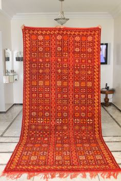 Excited to share this item from my shop: SALE! Moroccan Handmade Vintage Rug Handmade All Wool Rare Find, Tribal Berber Beauty from Morocco Large. 70 YEARS OLD Morrocan Rug, Moroccan Berber Rug, Geometric Rug, Tribal Rug, Stairs Home Depot, Moroccan Furniture, Cheap Carpet Runners, Classic Rugs, Deco