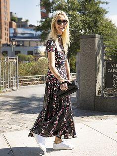 NYFW Street Style Spring 2016 - Zanna Roberts Rassi | allure.com