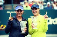 Martina Hingis & Sania Mirza // Family Circle Cup 2015 Champions