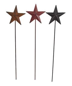 Love this Tin 14.5'' Star Pick Set by Craft Outlet on #zulily! #zulilyfinds