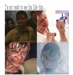 Warning! These photos may be from Lek to Death. Newt during transformation