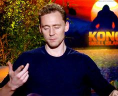 """Or just go working in the jungle and that keeps you grounded too."" Gif-set (by hiddlescheekbones): http://maryxglz.tumblr.com/post/157711734097/hiddlescheekbones-or-just-go-working-in-the"