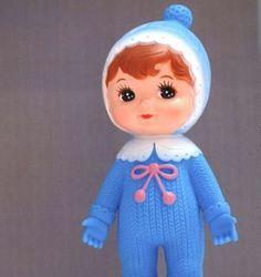 Image of Blue Woodland Doll
