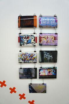 """Fluor en la Exposición """"Por todas partes. Graffiti y tipografía"""" Galería Swinton And Grant. Madrid. #typomad2014 #Madrid. #streetart #arteurbano #galerias #Fluor  https://twitter.com/arterecord#exposiciones #Arterecord 2014"""