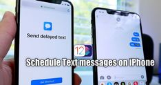 Scheduling text messages on iPhone come handy when we want to wish on someone's birthday, or we want to send the message to someone la. Iphone Texts, Text Messages, Apple Tv, Letting Go, Schedule, Siri, Ipad, Birthday, Life Hacks