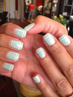 Gel color and nail arr