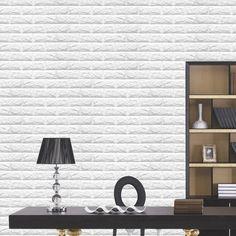 Wish | 5 Color 3d Brick Pattern Wallpaper Bedroom Living Room Modern Wall Background Tv Decor BKQ