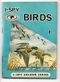 Vintage Dickens Press I-Spy Colour Book Birds I Spy Books, I Love Books, Ladybird Books, Vintage Children's Books, Little Books, Old Toys, Childhood Memories, Childrens Books, Growing Up