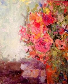 Flowers for dinner...sandy welch