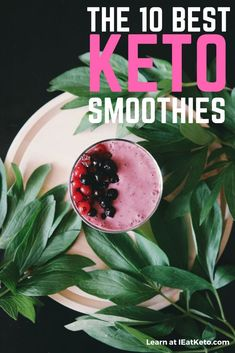 Your guide to how to build the perfect Keto Smoothie! Along with 10 of the best keto smoothies for a low carb drink to keep you full throughout the day. These keto smoothies are packed full of nutrition, with green keto smoothies for a vitamin hit, indulg Fruit Smoothies, Low Carb Smoothies, Smoothie Diet, Smoothie Recipes, Breakfast Smoothies, Keto Fat, Low Carb Keto, Keto Foods, Keto Recipes
