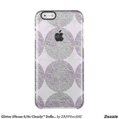 Glitter iPhone 6/6s Clearly™ Deflector Case Uncommon Clearly™ Deflector iPhone 6 Case