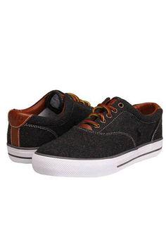 Ralph Lauren Vaughn Casual Shoes In Charcoal