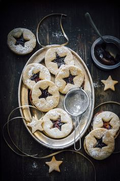 Linzer Cookies With