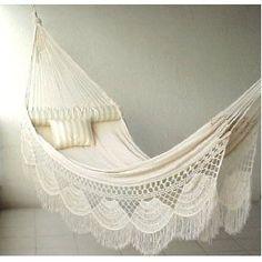 ... decor, idea, futur, stuff, dream, hammocks, outdoor, hous, garden