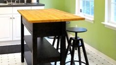Hack an Ikea Sideboard Into a Kitchen Island #EasyNip