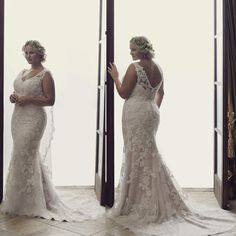 Plus Size Wedding Dresses Vintage 2016 Mermaid V Neck Backless Wedding Gowns Lace Beaded Appliques Bridal Gowns Weddings Dresses Weding Dresses From Gonewithwind, $201.01  Dhgate.Com