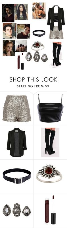 """""""Imagine spending New Years with Lydia,stiles,Scott,Kira,and your boyfriend Derek hale"""" by bluenia on Polyvore featuring Pilot, Amber Sun and Charlotte Russe"""