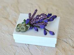 Lavender Jewelry Gift Box  Wedding Anniversary Baby by Vdesign2009, www.luxurybyvera.com