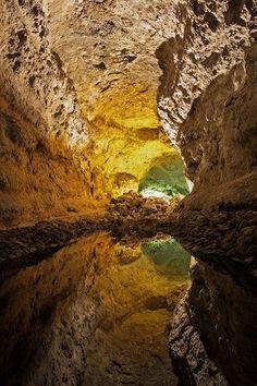 Cueva de los Verdes, Lanzarote, Canary Islands