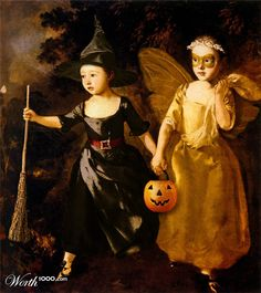worth1000's entries for a Halloween image contest.