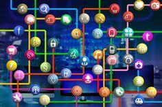 Kostenloses Bild auf Pixabay - Icon, Kreise, Baum, Struktur