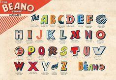 An Art Style Guide For Popular Comic Book, 'The Beano' - DesignTAXI.com