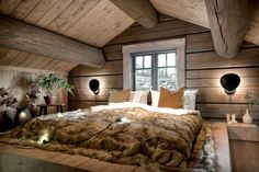 Healthy living at home devero login account access account Cozy Bedroom, Home Decor Bedroom, Cabin Interiors, Cabin Homes, Bungalows, Cabana, Interior Design Living Room, Home And Living, French Alps