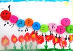 5o - 7o ΝΗΠΙΑΓΩΓΕΙΑ ΤΥΡΝΑΒΟΥ Name Crafts, Names, Letters, Blog, Greek, Asperger, Letter, Blogging, Lettering