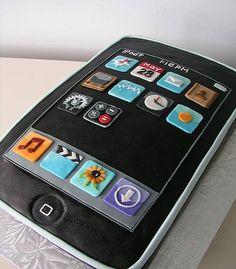 pastel de cumpleaños para hombres iPhone