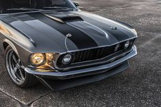 'Hitman' 1969 Mustang Mach 1 Is A 1,000 HP Twin Turbo Assassin | Carscoops 1969 Mustang Mach 1, Mustang Cobra, Ford Mustangs, John Wick, Thing 1, Chevelle Ss, Twin Turbo, Dodge Challenger, Twins