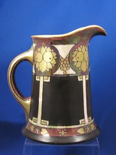 William Guerin & Co. (WG&Co.) Limoges Arts & Crafts Pitcher (c.1900-1932)