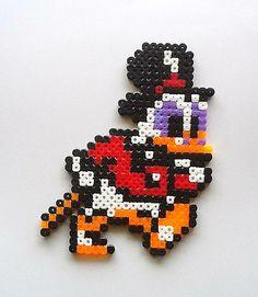 DuckTales Scrooge McDuck perler bead sprite by oldskooldani