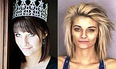 Police release before and after pictures of beauty turned meth addict