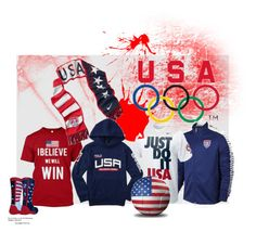 """USA"" by fashionista4uandme ❤ liked on Polyvore featuring men's fashion and menswear"