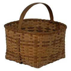 Cherokee Native American Indian Basket, North Carolina