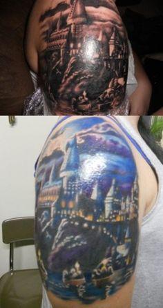 hogwarts  -- I mean, I love Harry Potter but...come on...