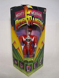 vintage power ranger red ranger action figure sealed 1993 legacey action figures
