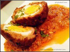Hyderabadi Cuisine: Hyderabadi Nargisi Kofta (scotch eggs )